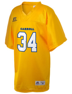 Kuemper Catholic Grade School Carroll Russell Kid's Replica Football Jersey