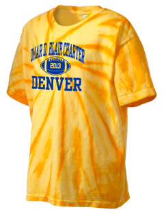 Omar D. Blair Charter School Denver Kid's Tie-Dye T-Shirt