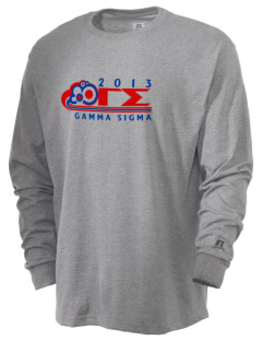 Gamma Sigma  Russell Men's Long Sleeve T-Shirt