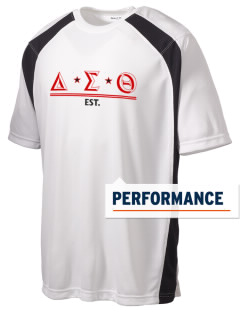 Delta Sigma Theta Men's Dry Zone Colorblock T-Shirt