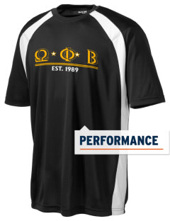 Omega Phi Beta Men's Dry Zone Colorblock T-Shirt