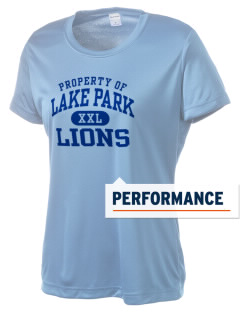 Lake Park Elementary School Lions Women's Competitor Performance T-Shirt