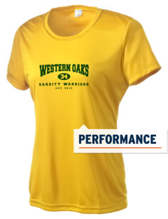 Western Oaks Elementary School Warriors Women's Competitor Performance T-Shirt