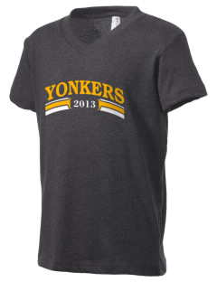 Christ The King Parish Yonkers Kid's V-Neck Jersey T-Shirt