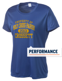 Holy Cross Parish Crossett Women's Competitor Performance T-Shirt