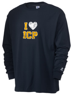 Immaculate Conception Parish Highland Park  Russell Men's Long Sleeve T-Shirt