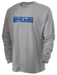 Notre Dame of Bethlehem Church Bethlehem  Russell Men's Long Sleeve T-Shirt