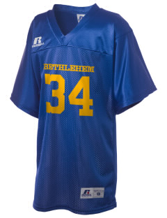 Notre Dame of Bethlehem Church Bethlehem Russell Kid's Replica Football Jersey