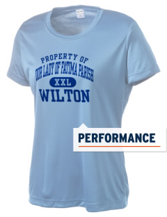 Our Lady of Fatima Parish Wilton Women's Competitor Performance T-Shirt