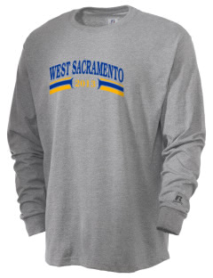 Our Lady of Grace Parish West Sacramento  Russell Men's Long Sleeve T-Shirt