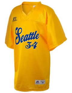 Our Lady of Mount Virgin Parish Seattle Russell Kid's Replica Football Jersey