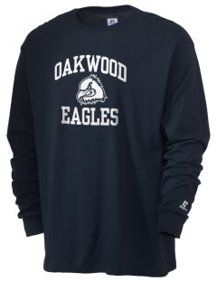 Oakwood Elementary School Eagles  Russell Men's Long Sleeve T-Shirt