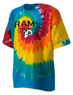 Clearwater Valley Elementary School Rams Kid's Tie-Dye T-Shirt