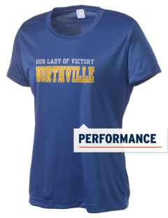 Our Lady of Victory Northville Women's Competitor Performance T-Shirt