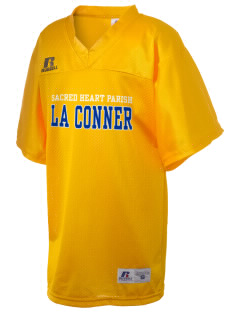 Sacred Heart Parish La Conner Russell Kid's Replica Football Jersey