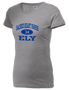 Sacred Heart Parish Ely  Russell Women's Campus T-Shirt