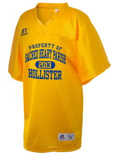 Sacred Heart Parish Hollister Russell Kid's Replica Football Jersey