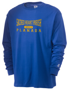 Sacred Heart Parish Planada  Russell Men's Long Sleeve T-Shirt