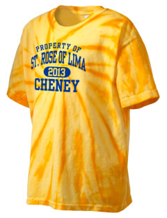 Saint Rose of Lima Cheney Kid's Tie-Dye T-Shirt