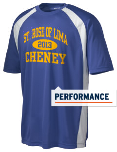 Saint Rose of Lima Cheney Men's Dry Zone Colorblock T-Shirt