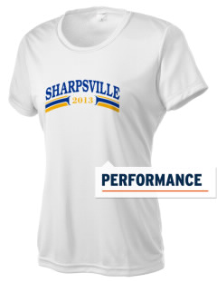 St Bartholomew Parish Sharpsville Women's Competitor Performance T-Shirt