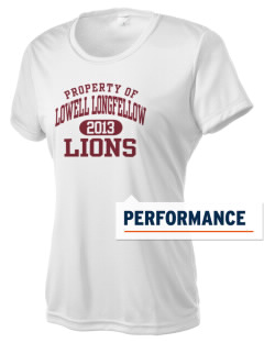 Lowell Longfellow Elementary School Lions Women's Competitor Performance T-Shirt