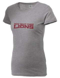 Lowell Longfellow Elementary School Lions  Russell Women's Campus T-Shirt