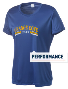 St Isadore The Farmer Parish Orange Cove Women's Competitor Performance T-Shirt