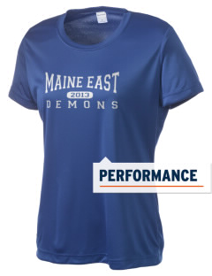 Maine East High School Demons Women's Competitor Performance T-Shirt