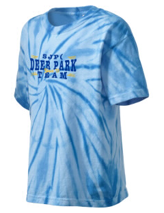 St Joseph Parish (Clayton) Deer Park Kid's Tie-Dye T-Shirt
