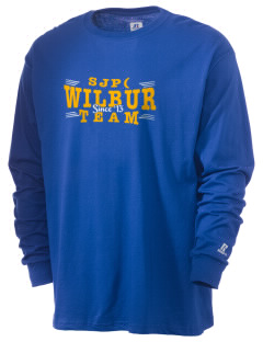 St Joseph Parish (Odessa) Wilbur  Russell Men's Long Sleeve T-Shirt