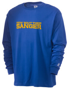 St Katherine Parish (Del Rey) Sanger  Russell Men's Long Sleeve T-Shirt