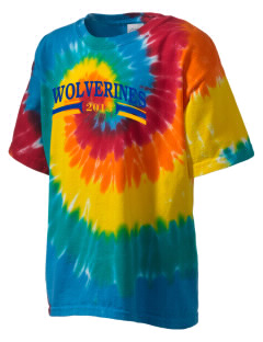 Willow Springs Elementary School Wolverines Kid's Tie-Dye T-Shirt