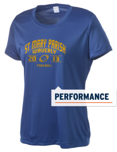 St Mary Parish Waverly Women's Competitor Performance T-Shirt
