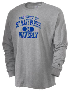 St Mary Parish Waverly  Russell Men's Long Sleeve T-Shirt