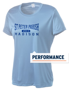 St Peter Parish Madison Women's Competitor Performance T-Shirt