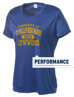 St Phillip Neri Parish Lynwood Women's Competitor Performance T-Shirt