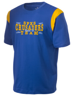 St. Pius X School Crusaders Holloway Men's Rush T-Shirt