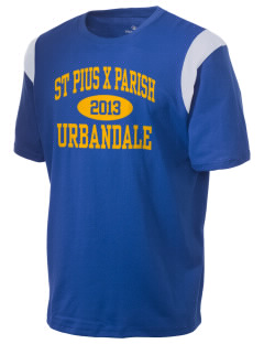 St Pius X Parish Urbandale Holloway Men's Rush T-Shirt