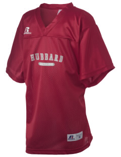Hubbard High School Greyhounds Russell Kid's Replica Football Jersey