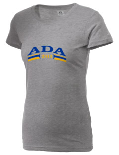 St. Robert of Newminster Parish Ada  Russell Women's Campus T-Shirt