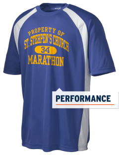 St. Stehpen's Church Marathon Men's Dry Zone Colorblock T-Shirt