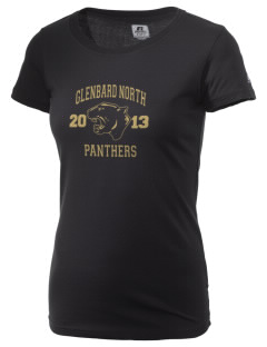 Glenbard North High School Panthers  Russell Women's Campus T-Shirt