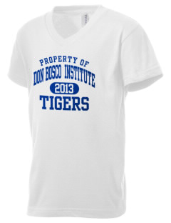 Don Bosco Technical Institute Tigers Kid's V-Neck Jersey T-Shirt