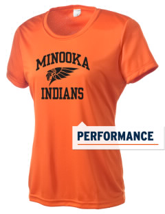 Minooka Community High School Indians Women's Competitor Performance T-Shirt
