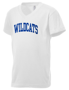 State University of New York Utica Wildcats Kid's V-Neck Jersey T-Shirt
