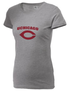 The University of Chicago Maroons  Russell Women's Campus T-Shirt