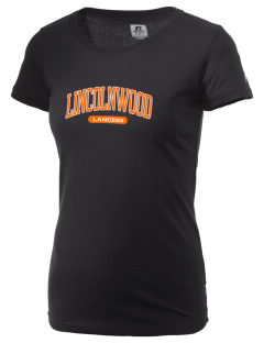 Lincolnwood Senior High School Lancers  Russell Women's Campus T-Shirt