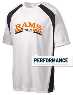 Manual High School Rams Men's Dry Zone Colorblock T-Shirt