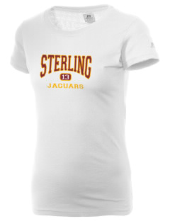 Sterling Middle School Jaguars  Russell Women's Campus T-Shirt